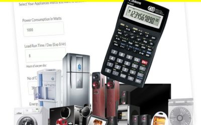 Calculate Electrical Appliances Watts Load | Power Consumption | Load Calculator