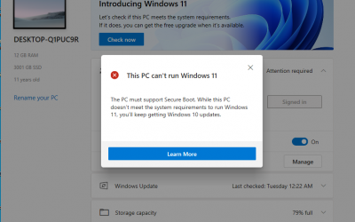 """How you can fix the error """"This PC Can't Run Windows 11"""" 3 Ways to Fix Error"""